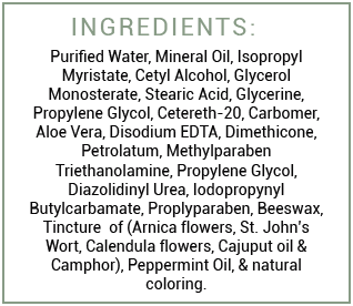 Sympl Relief Ingredients